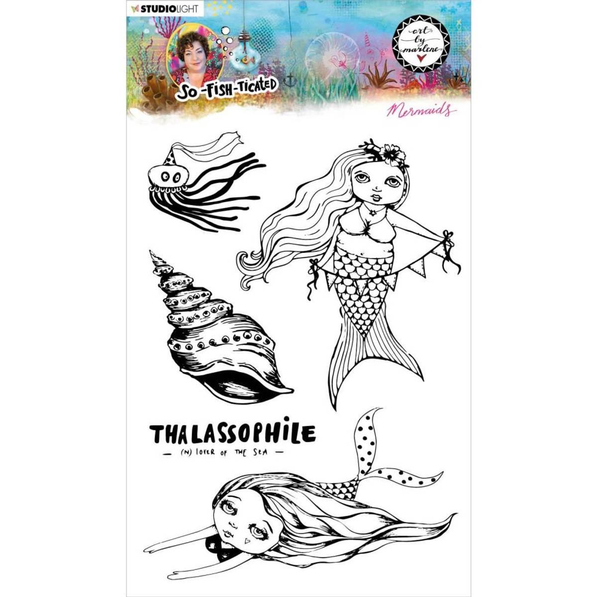 Art By Marlene So-Fish-Ticated Mermaids