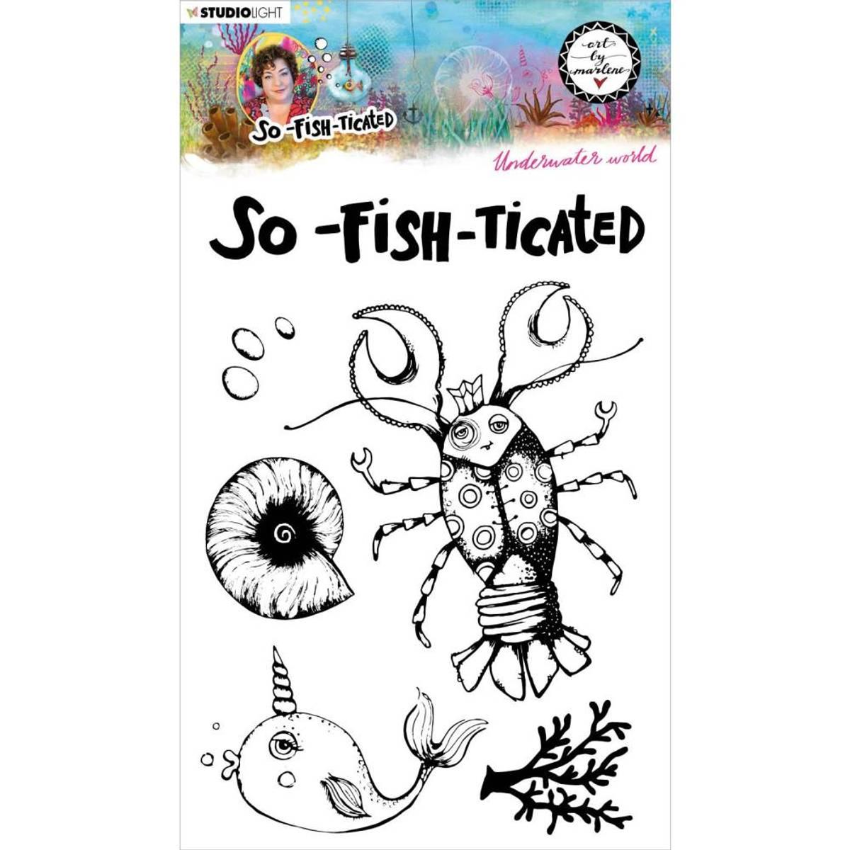Art By Marlene So-Fish-Ticated Underwater World