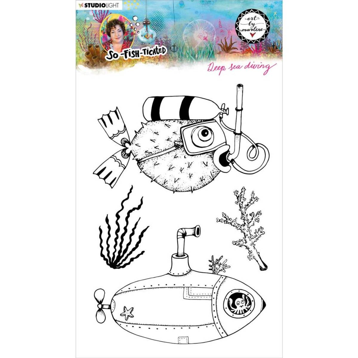 Art By Marlene So-Fish-Ticated Deep Sea Diving