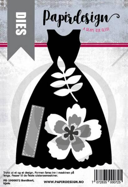 Bilde av Bordkort, kjole