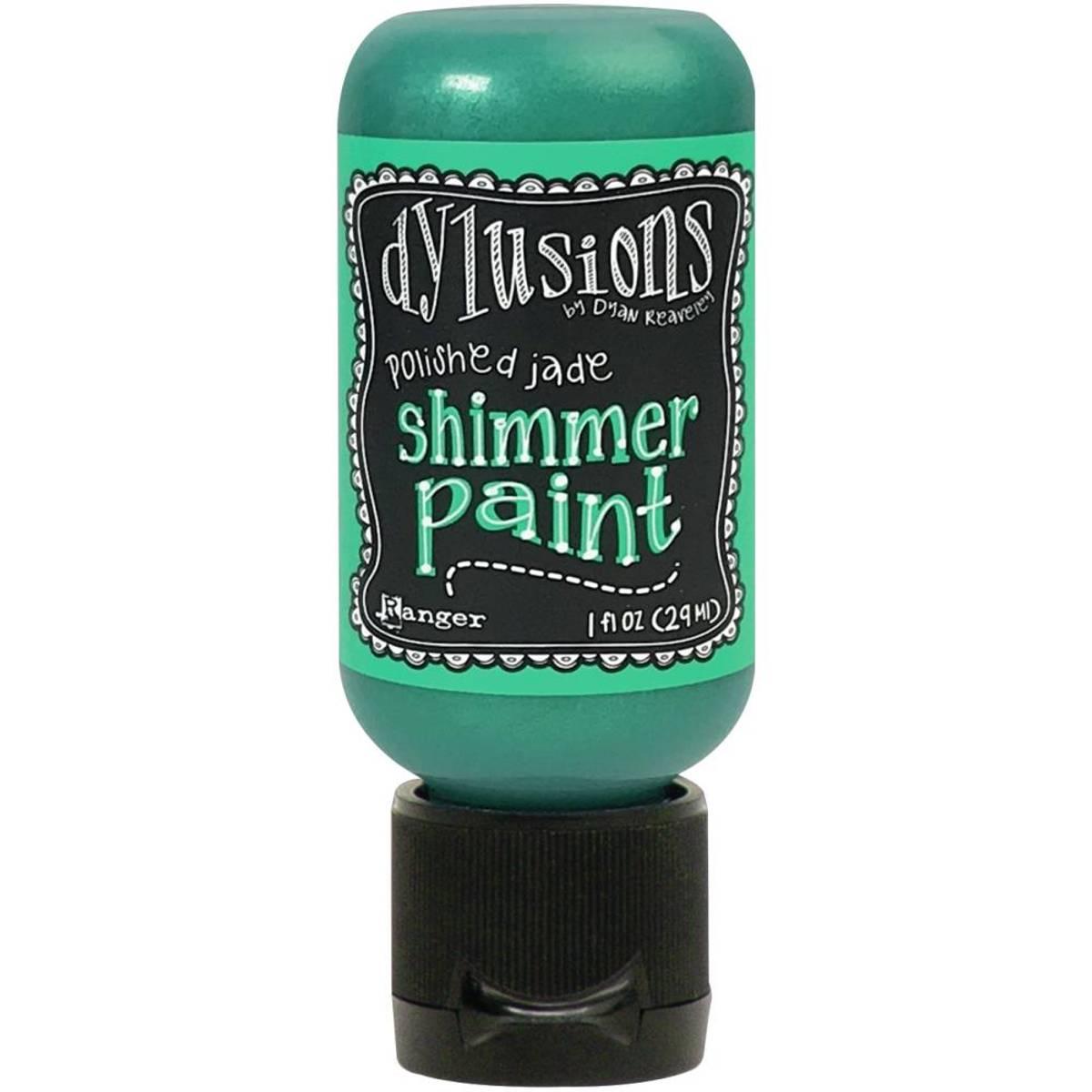 Shimmer Paint 1oz; Polished Jade