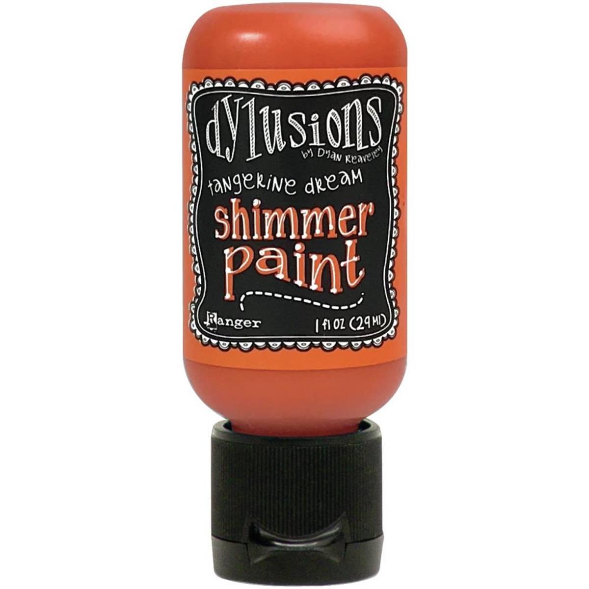 Shimmer Paint 1oz; Tangerine Dream