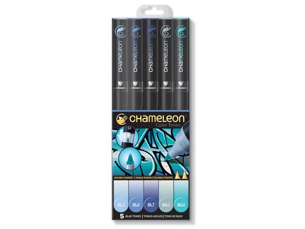 Bilde av Chameleon; 5-Pen Blue