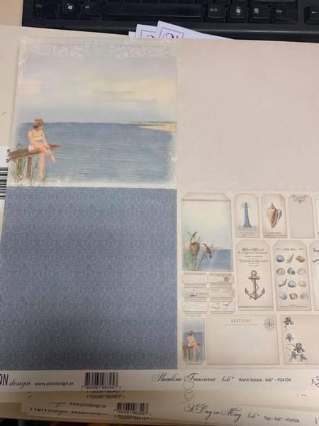 Bilde av Shoreline Treasures; 6x6