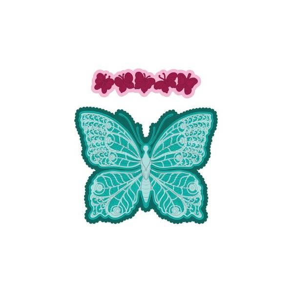 Bilde av Floral Butterfly Large