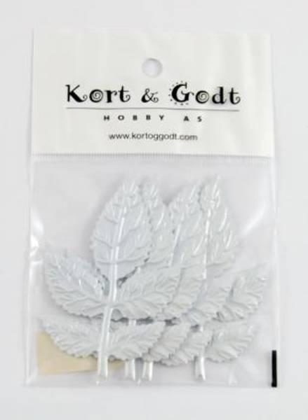 Bilde av K&G; roseblad hvit