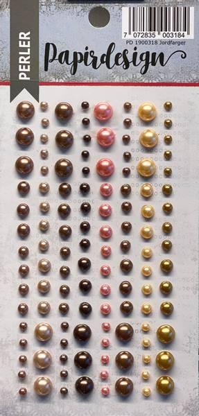 Bilde av Perler jordfarger