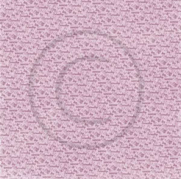 Bilde av Barnedåp rosa