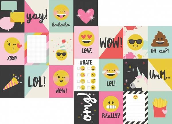 Bilde av Emoji Love 3x4