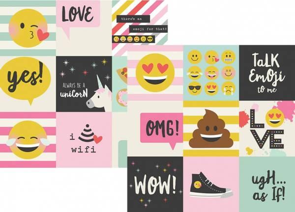 Bilde av Emoji Love 4x4 Elements