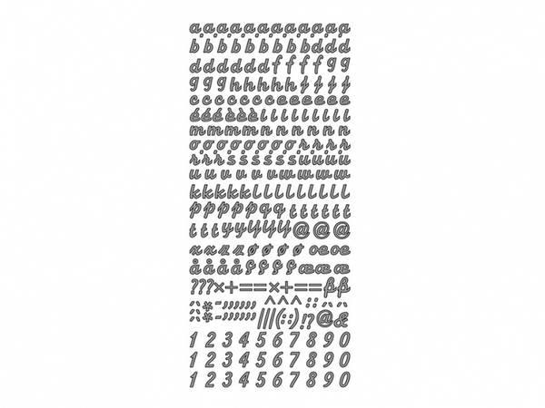 Bilde av Enkle ark; bokstaver,