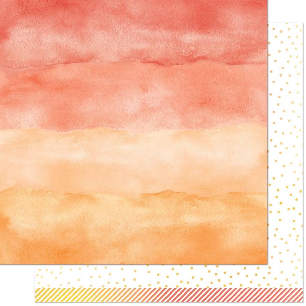 Watercolor Wishes Rainbow; Carnelian