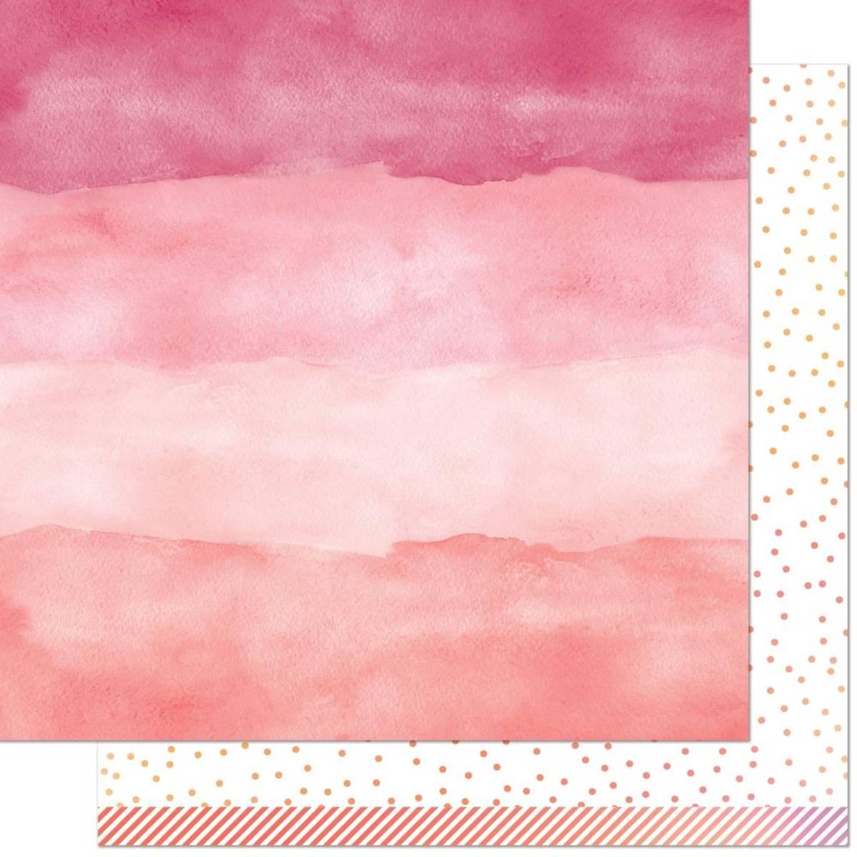 Watercolor Wishes Rainbow; Rose Quartz