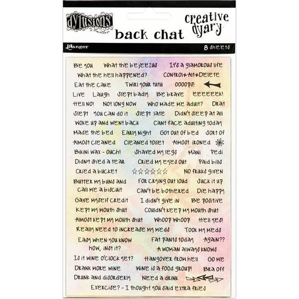 Bilde av Creative Dyary Back Chat