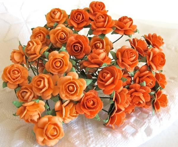 Bilde av Roser Orange 1,2 cm