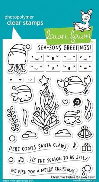 Bilde av christmas fishes stamp