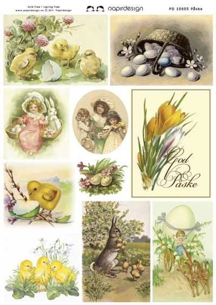 Bilde av Papirdesign; Påske