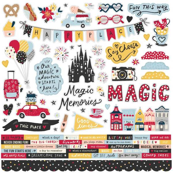 Bilde av Cardstock Stickers