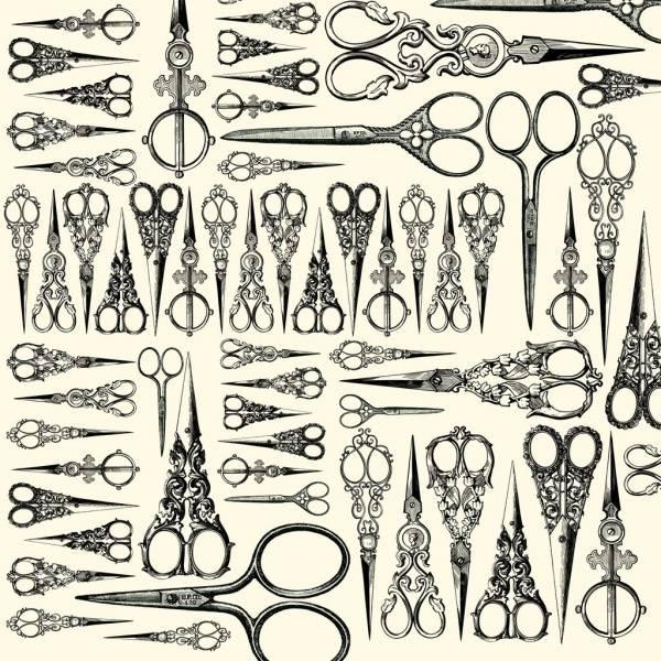 Bilde av Scissors on Ivory