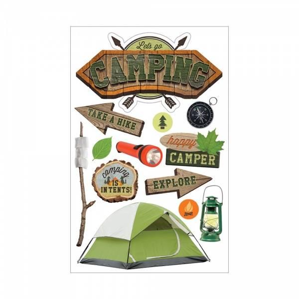 Bilde av Paper House; Camping