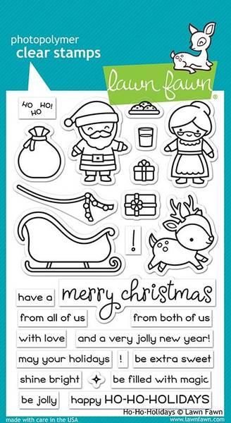 Bilde av ho-ho-holidays stamp