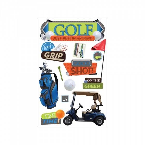 Bilde av Paper House; Golf 3-D