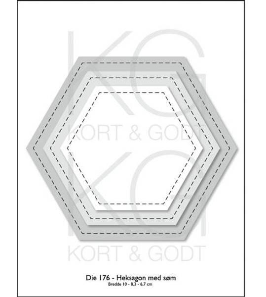Bilde av Heksagon med søm