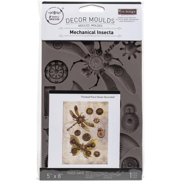 """Re-Design Mould 5""""X8""""X8mm - Mechanical Insectica"""