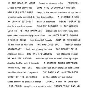 Bilde av Tiny Text Halloween