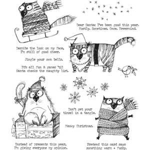 Bilde av Snarky Cat Christmas