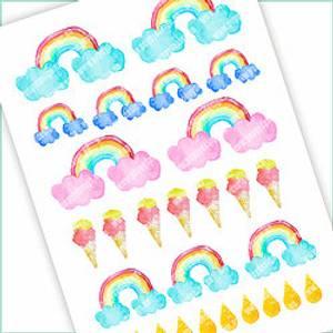 Bilde av Stickers Regnbuen