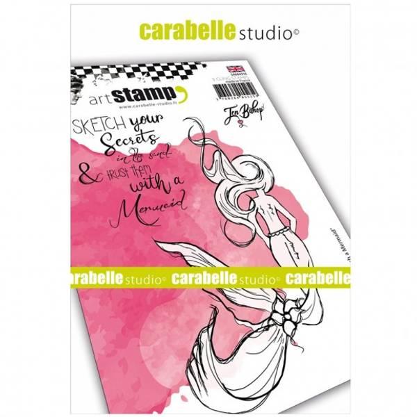 Carabelle - sketch a mermaid