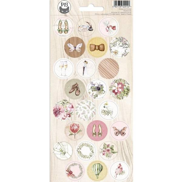 Always & Forever Cardstock Stickers 4