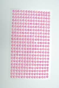 Bilde av Stickers diamant 5mm - rosa