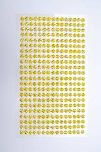 Bilde av Stickers diamant 5mm - gul
