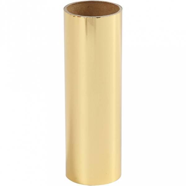 Dekorasjonsfolie, B: 15,5 cm, gull, 50cm
