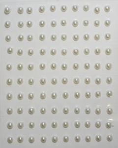 Bilde av Stickers perler halve 5mm -