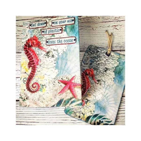 Under The Ocean, 12 Designs/1 Each