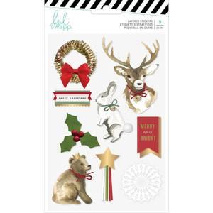 Bilde av Layered stickers - christmas