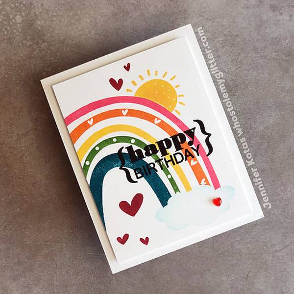 Big & Bold ~ Build A Rainbow