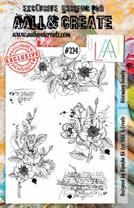 Bilde av #324 - A5 STAMPS - Blooming