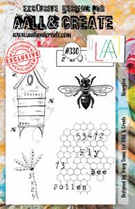Bilde av #330 - A5 STAMPS - Honeybee