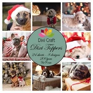 Bilde av Christmas dogs