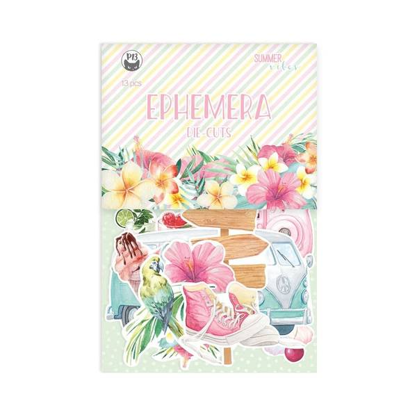 Summer vibes - Ephemera Cardstock Die-Cuts