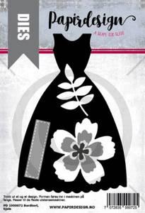 Bilde av Kjole, bordkort