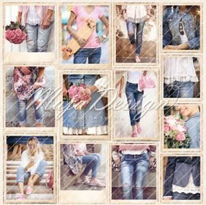Bilde av Denim & girls - girls in