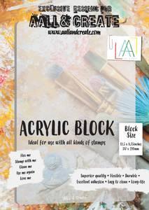 Bilde av ACRYLIC BLOCK A4