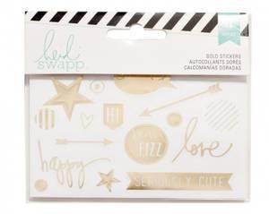 Bilde av gold stickers