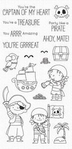 Bilde av Party like a Pirate - stamp