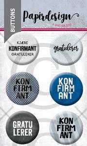 Bilde av Konfirmant 6 buttons